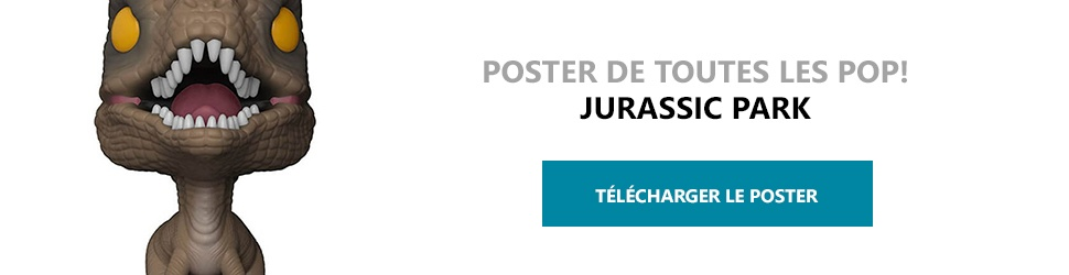Poster Figurines POP Jurassic Park