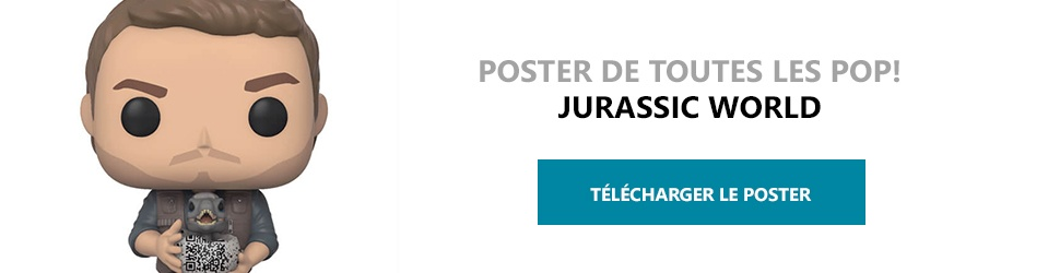 Poster Figurines POP Jurassic World