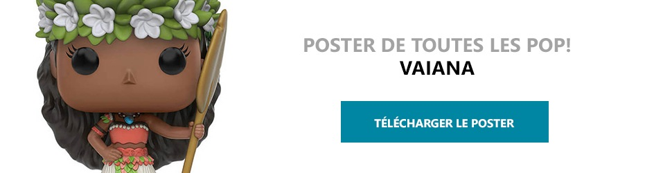 Poster Figurines POP Vaiana