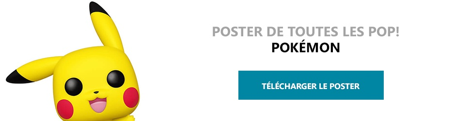 Poster Figurines POP Pokemon