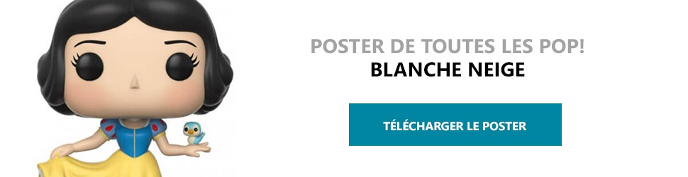 Poster Figurines POP Blanche Neige