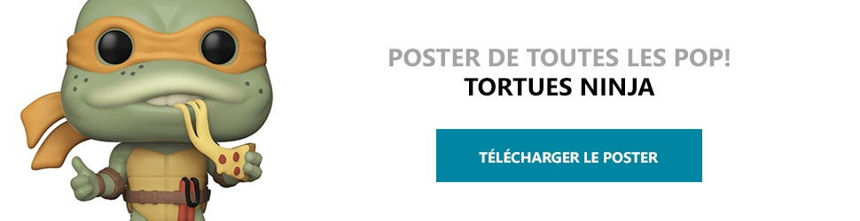 Poster Figurines POP Tortues Ninja