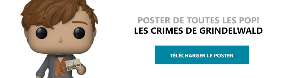 Poster Figurines POP Les Crimes de Grindelwald