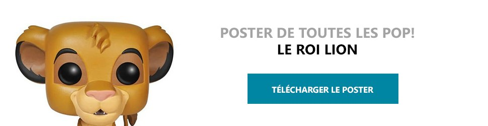 Poster Figurines POP Le Roi Lion