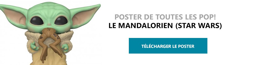 Poster Figurines POP Le Mandalorien (Star Wars)