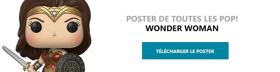 Poster Figurines POP Wonder Woman