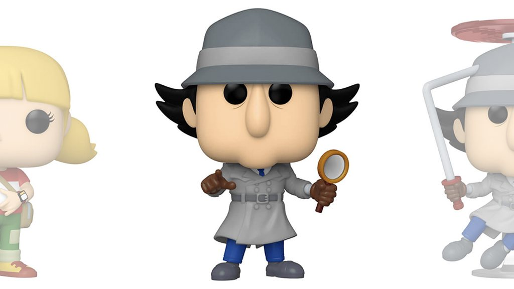 Figurines POP Inspecteur Gadget