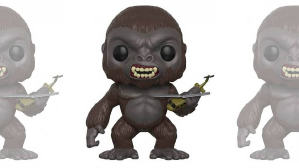 Figurines POP Kong Skull Island