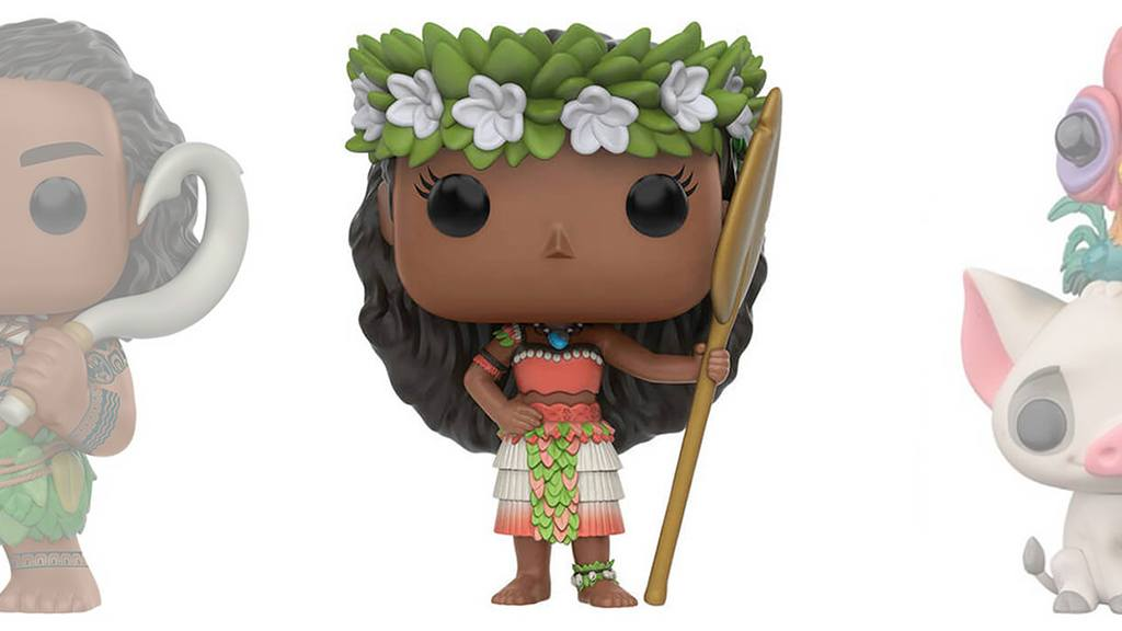 Figurines POP Vaiana