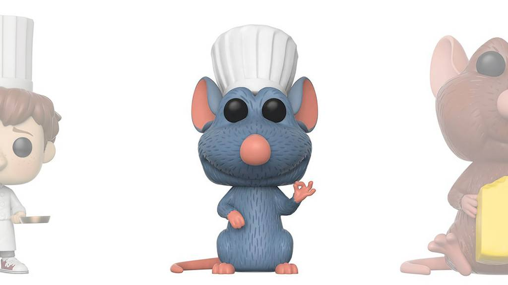 Figurines POP Ratatouille