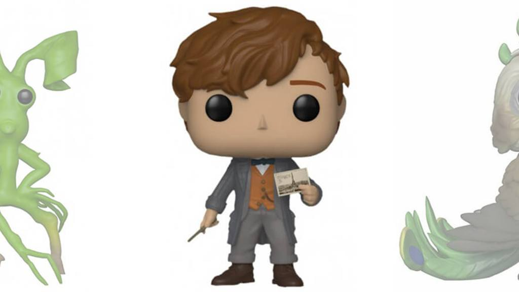 Figurines POP Les Crimes de Grindelwald