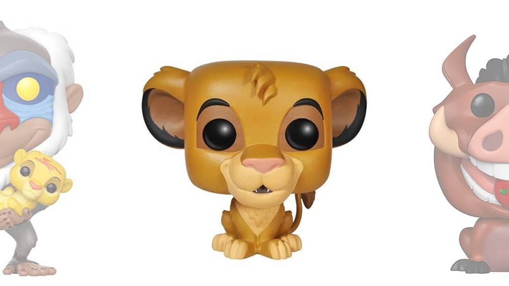 Figurines POP Le Roi Lion