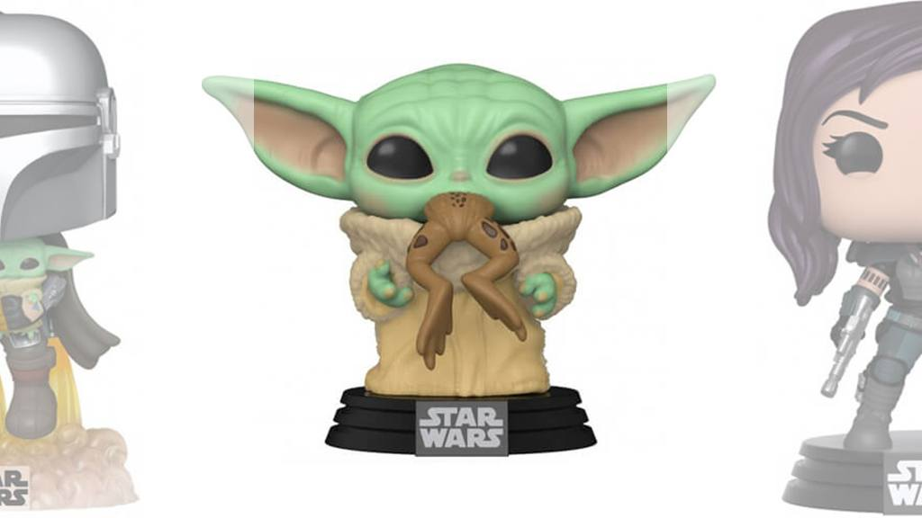 Figurines POP Le Mandalorien (Star Wars)