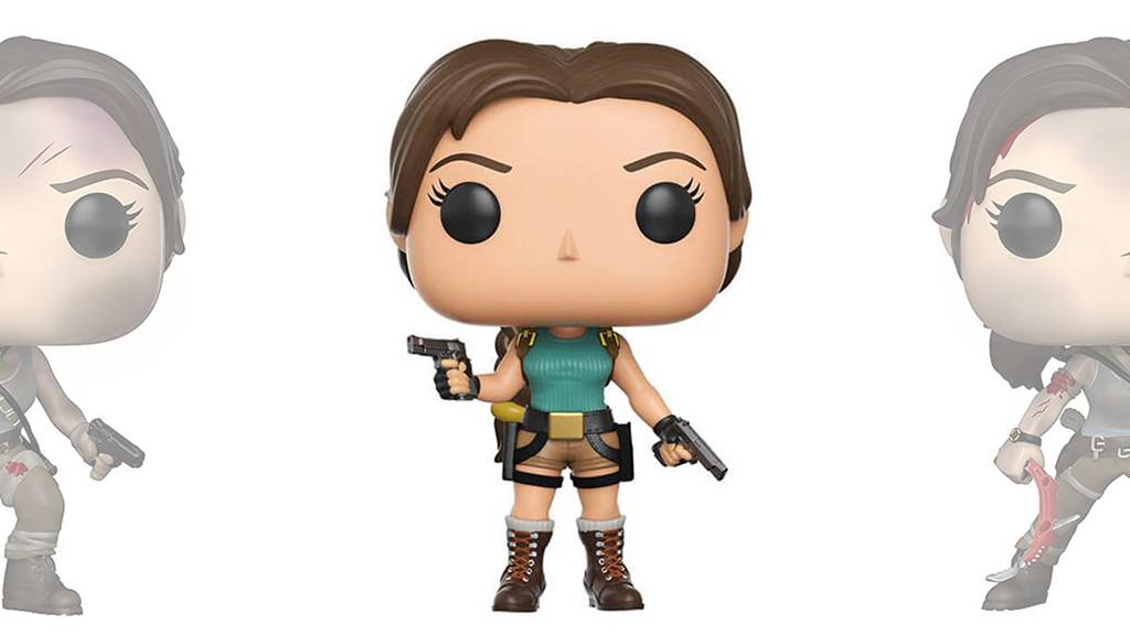 Figurines POP Tomb Raider