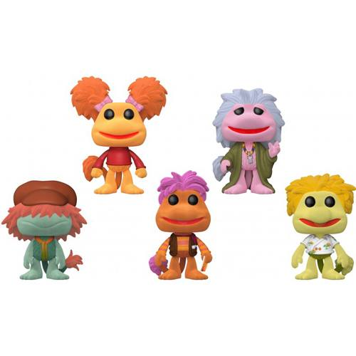 Figurine Fraggle Rock Pack (Flocked) (Fraggle Rock)