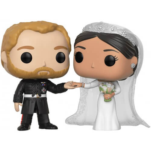 Figurine Funko POP Le Duc et la Duchesse de Sussex