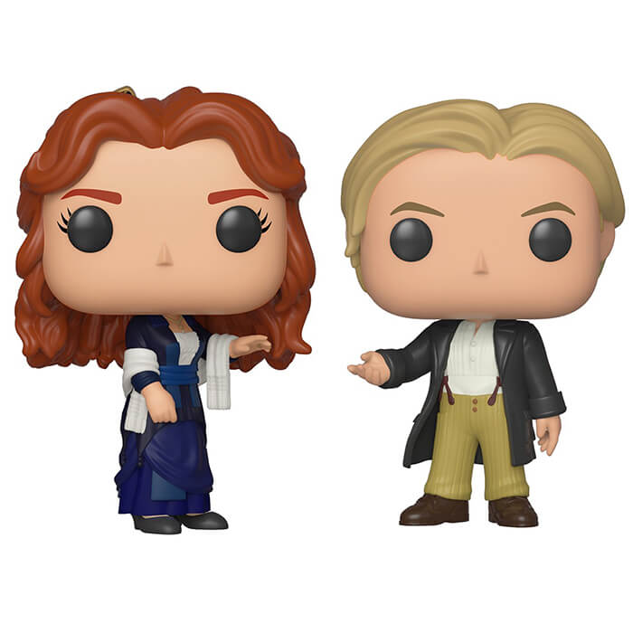 Figurine Funko POP Rose & Jack (Titanic)