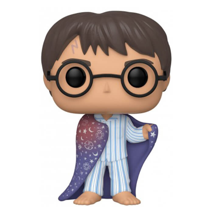 Figurine Funko POP Harry Potter sous cape d'invisibilité (Harry Potter)