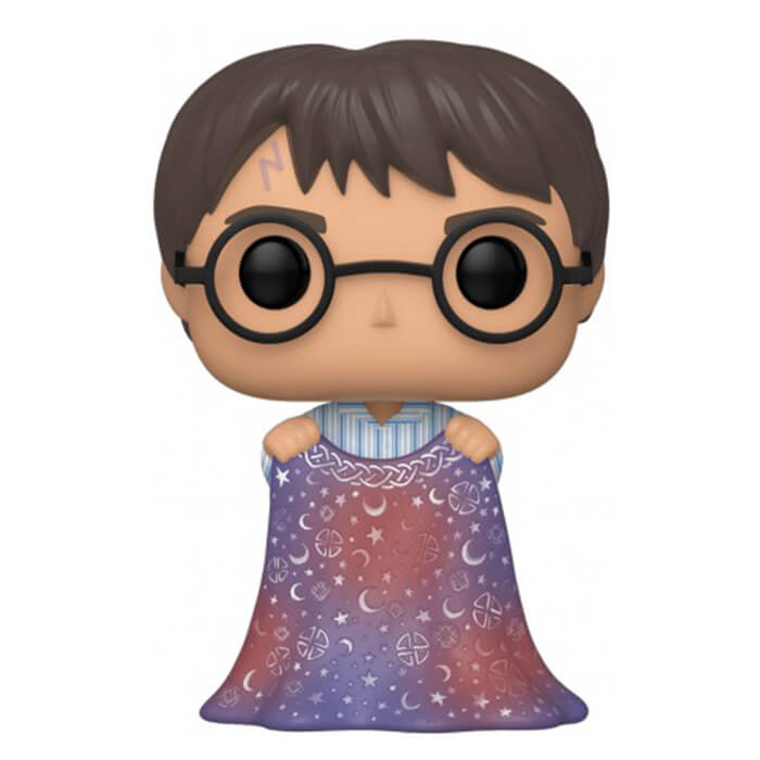 Figurine Funko POP Harry Potter avec cape d'invisibilité