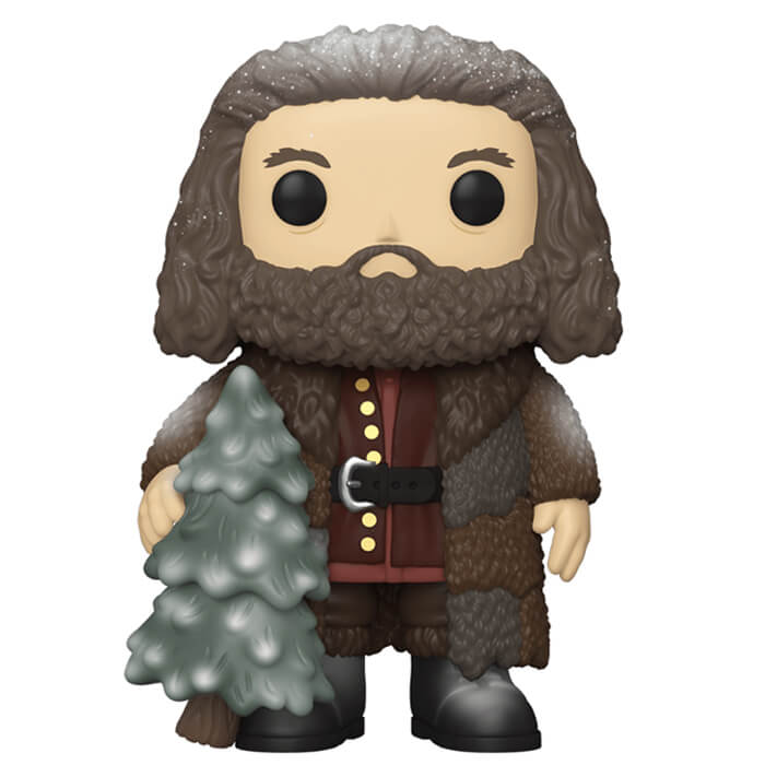Figurine Funko POP Rubeus Hagrid à Noël (Harry Potter)