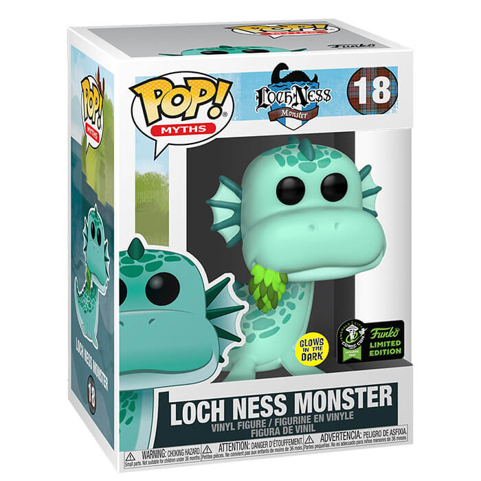 Le monstre du Loch Ness (Glow in The Dark)