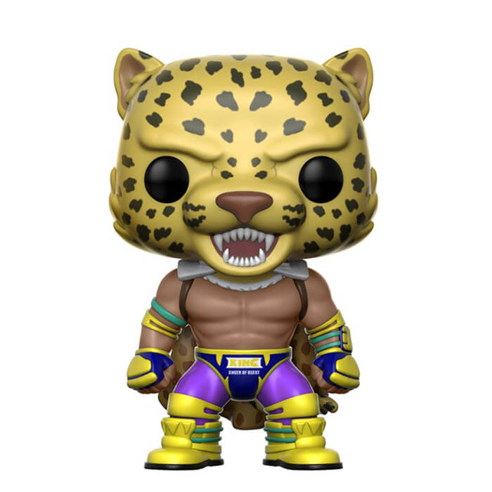 Figurine Funko POP King (avec cape) (Tekken)