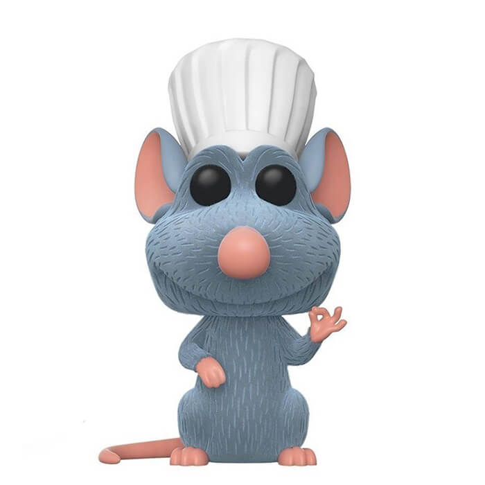 Figurine Funko POP Rémy (Flocked) (Chase) (Ratatouille)