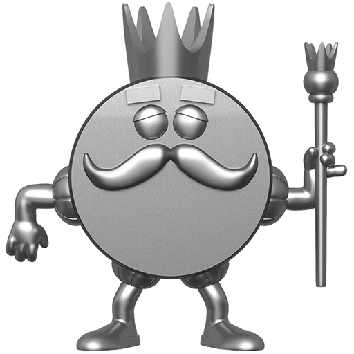 Figurine Funko POP King Ding Dong (Platine) (Icônes de marques)