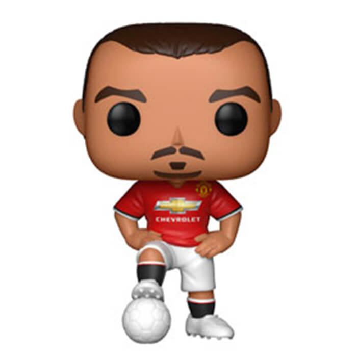 Figurine Funko POP Zlatan Ibrahimovic (Manchester United) (Premier League)