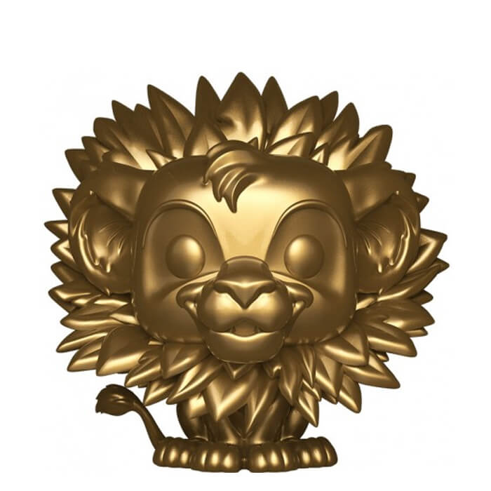 Figurine Funko POP Simba (Gold) (Le Roi Lion)