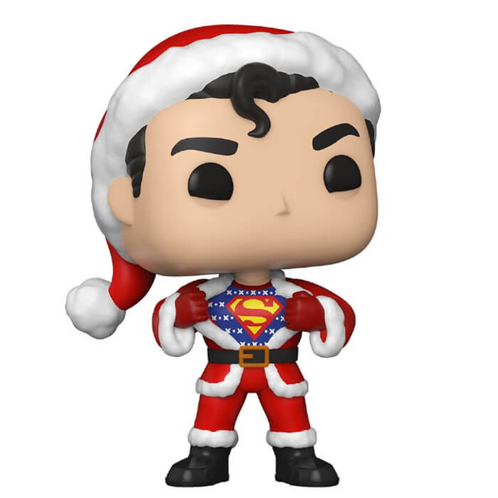 Figurine Funko POP Superman en pull de Noël (DC Comics)