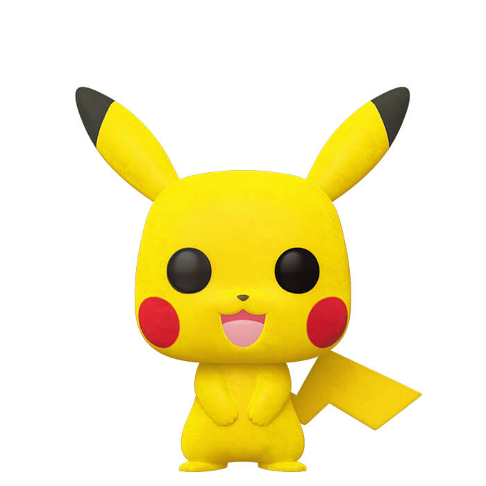 Figurine Funko POP Pikachu (Flocked) (Pokémon)