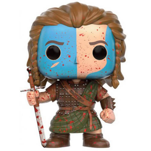 Figurine Funko POP William Wallace (Bloody) (Braveheart)