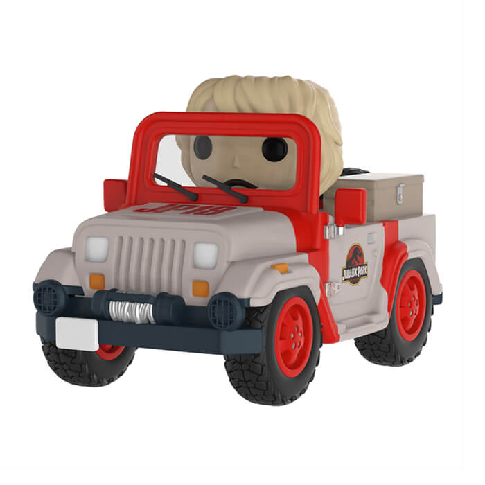 Figurine Funko POP! Ellie Sattler (avec Jeep)