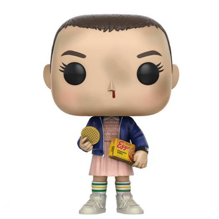 Figurine Funko POP Onze avec des Eggos (Stranger Things)