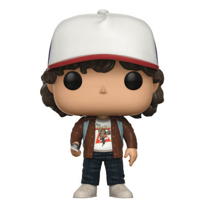 Figurine Funko POP Dustin Henderson en veste marron (Stranger Things)