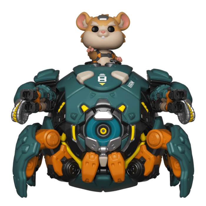 Figurine Funko POP Bouldozer (Overwatch)