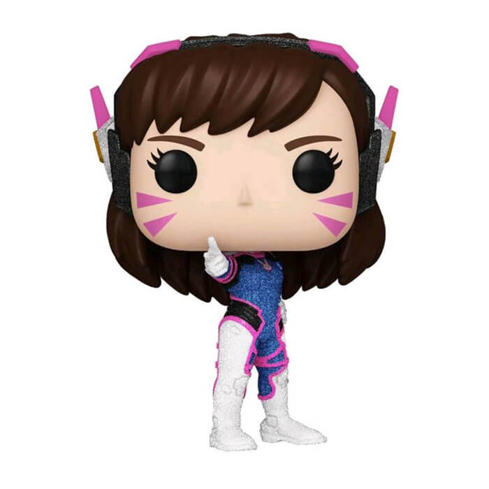Figurine D.Va (Diamond Glitter) (Overwatch)