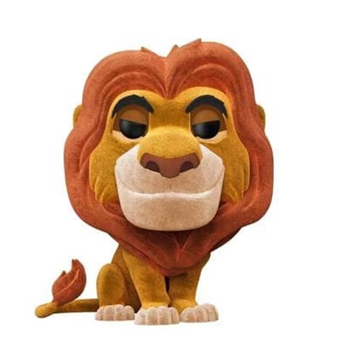 Figurine Funko POP Mufasa (Flocked) (Le Roi Lion)