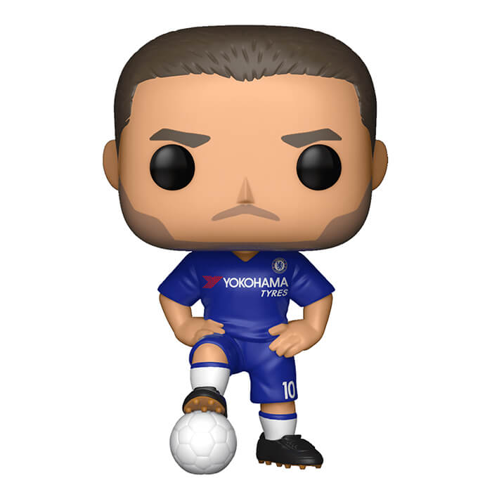 Figurine Funko POP Eden Hazard (Chelsea) (Premier League)