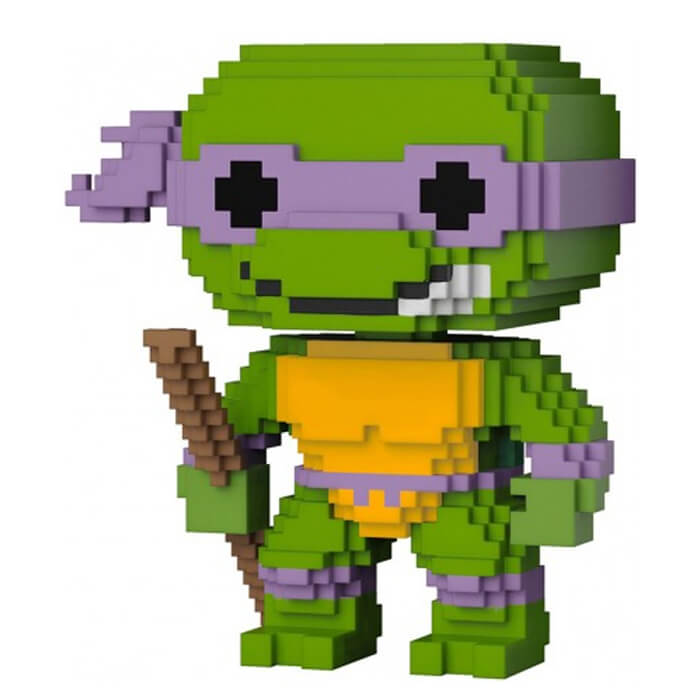 Figurine Funko POP Donatello (8-bit) (Tortues Ninja)