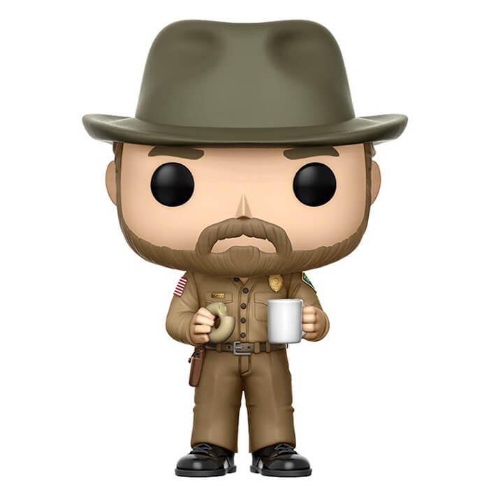 Figurine Funko POP Jim Hopper avec son chapeau (Stranger Things)