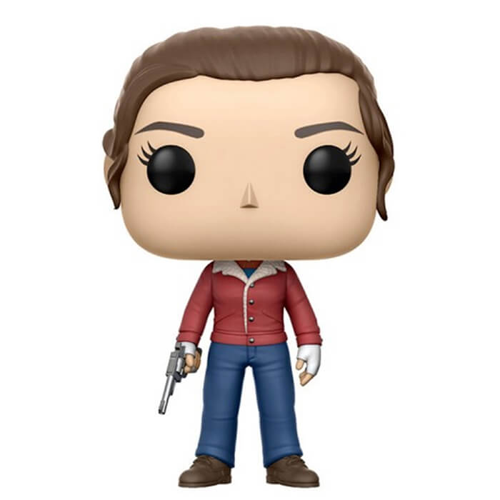 Figurine Funko POP Nancy Wheeler avec un pistolet (Stranger Things)