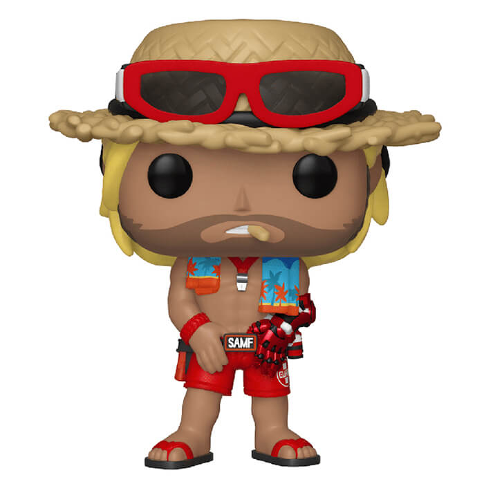 Figurine Funko POP McCree (Skin Sauveteur) (Overwatch)