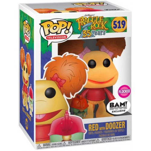 Red (avec Doozer) (Flocked)