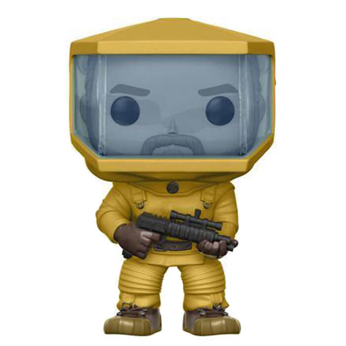 Figurine Funko POP! Jim Hopper en combinaison de protection