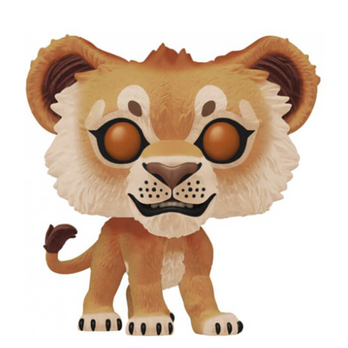 Figurine Funko POP Simba (Flocked) (Le Roi Lion)