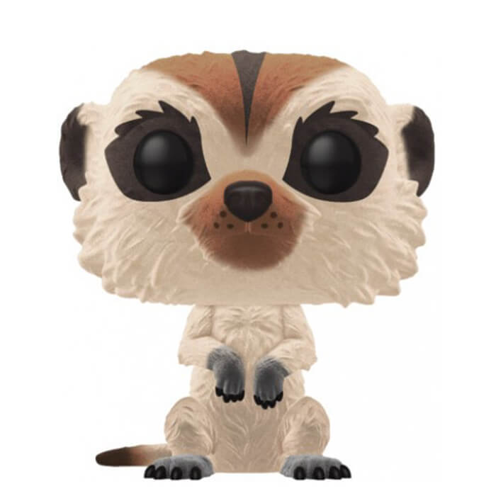 Figurine Funko POP Timon (Flocked) (Le Roi Lion)