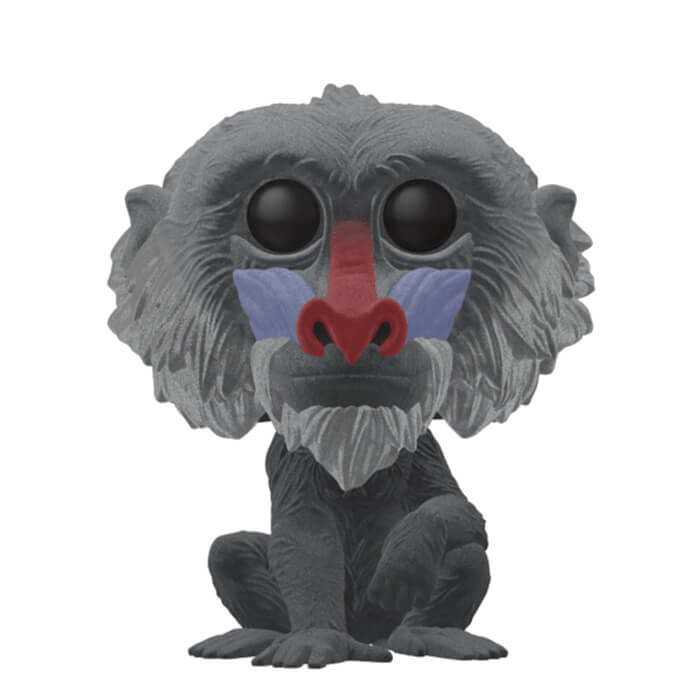 Figurine Funko POP! Rafiki (Flocked)