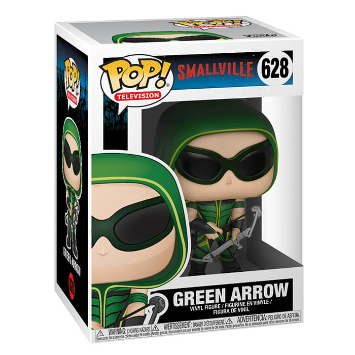 Green Arrow aves lunettes